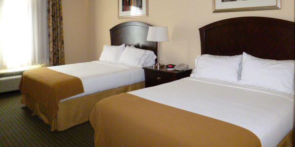 Double Queen at Holiday Inn Express Hotel & Suites Willcox